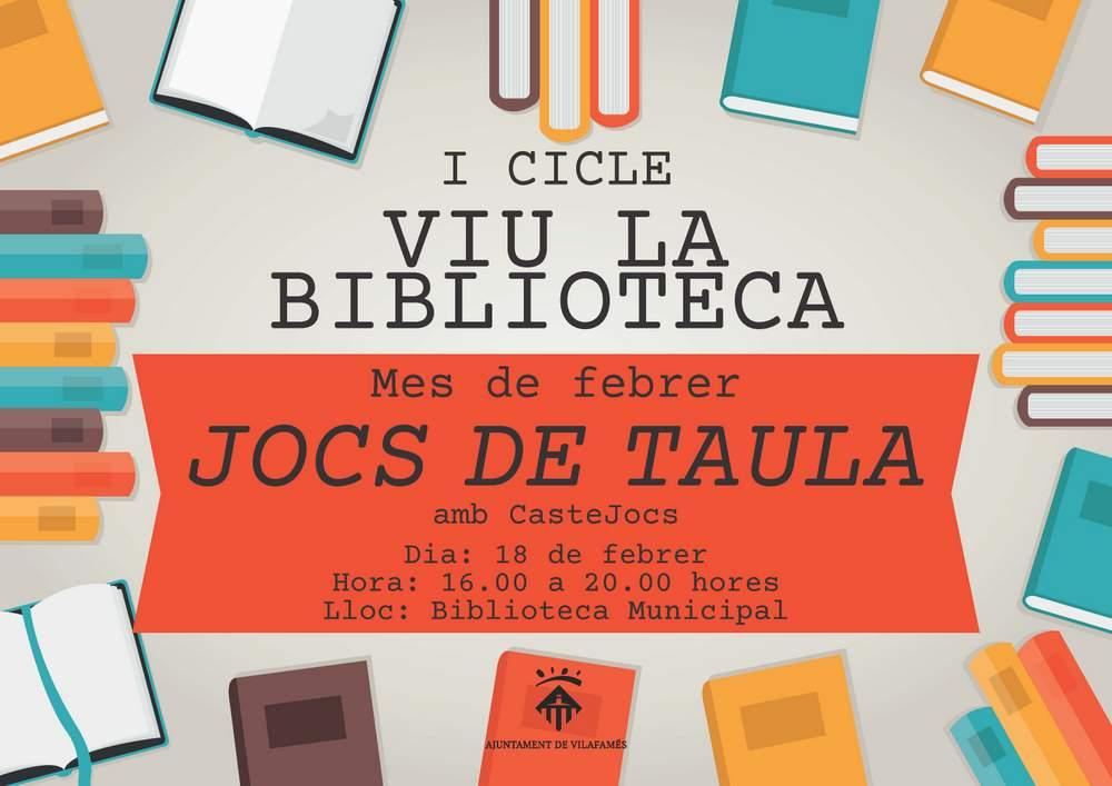 Viu la Biblioteca a Vilafamés