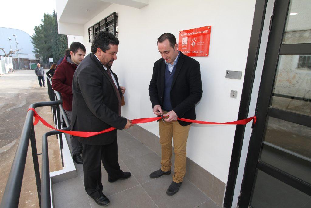 Inauguració de l'alberg