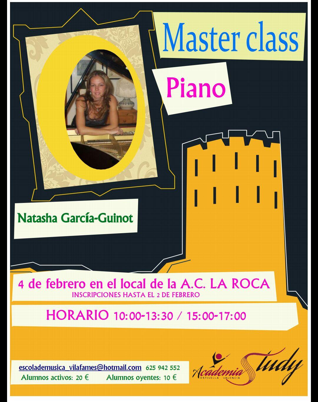 Master Class de piano