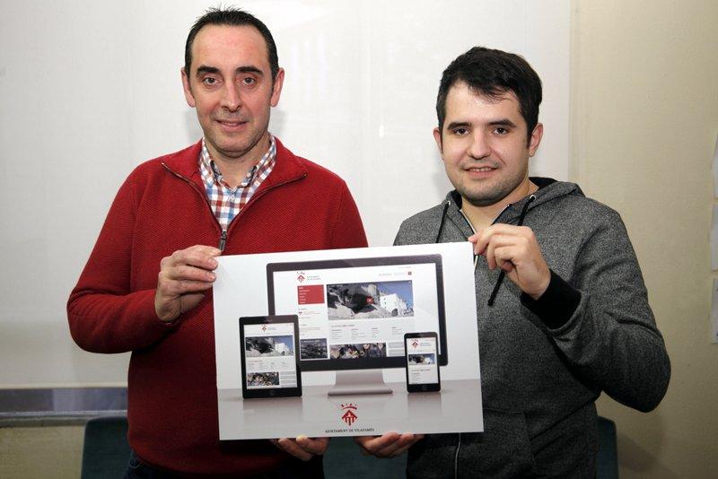 Presentació del web de Vilafamés