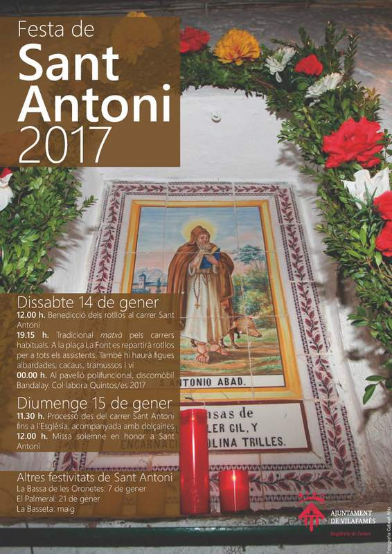 Cartell del Sant Antoni 2017