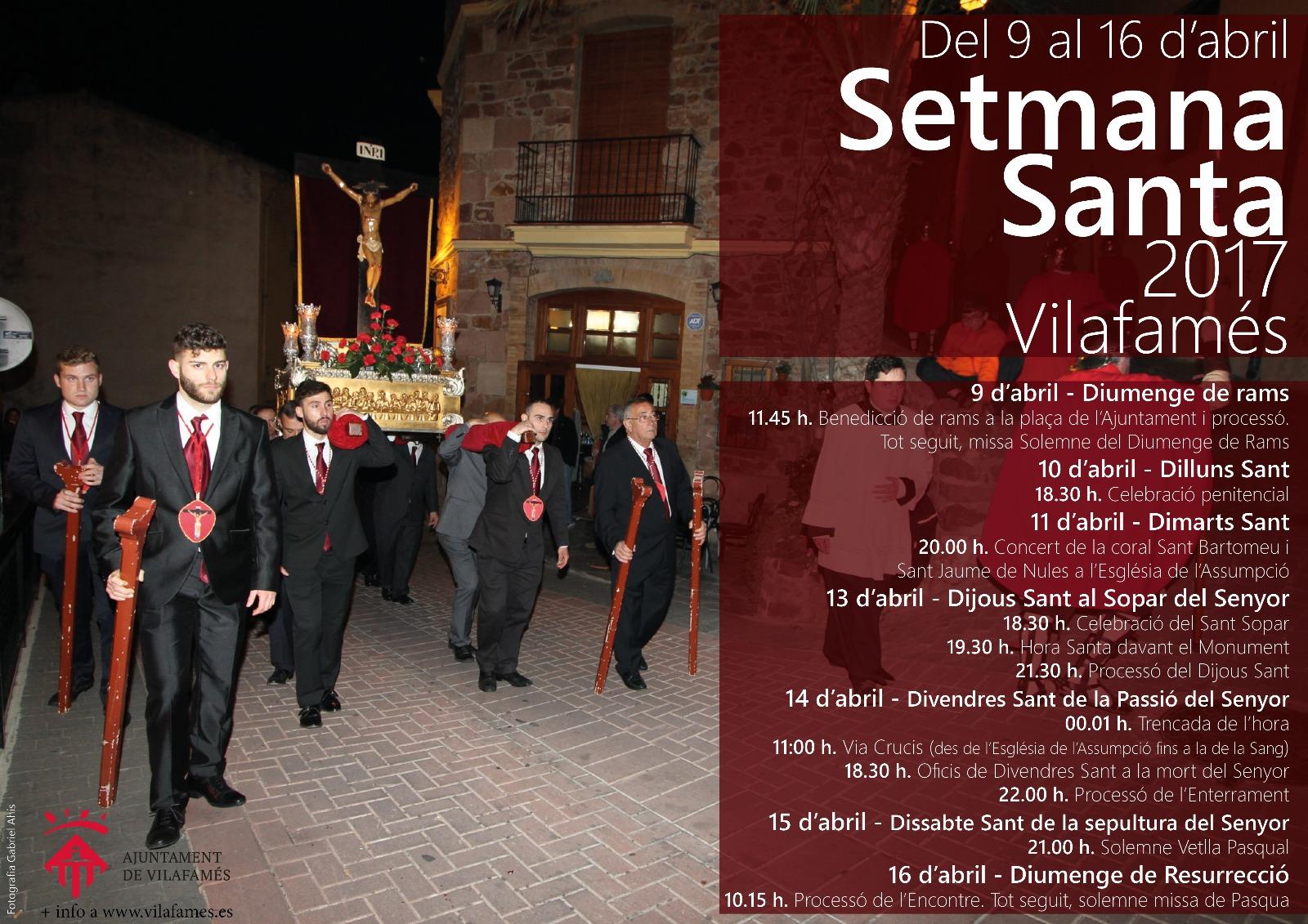 Setmana Santa a Vilafamés