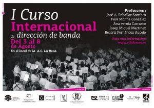 I Curso Internacional de dirección de banda