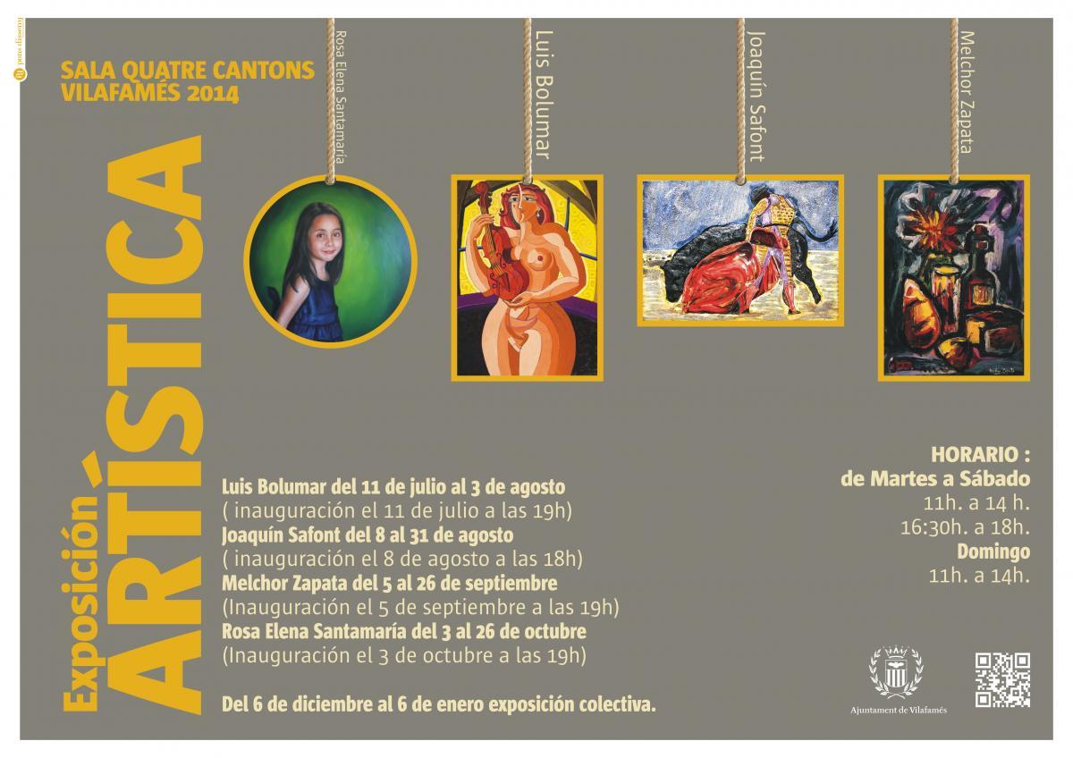Exposición Artística Vilafamés 2014