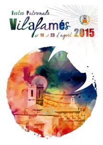 Cartel ganador fiestas Vilafamés 2015