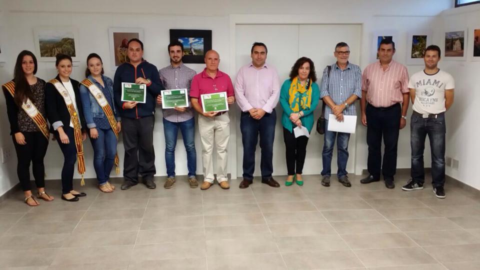 "Entrega de premios del II Concurso de fotografía del PNM Sant Miquel ""PARATGE DESCOBERT""."