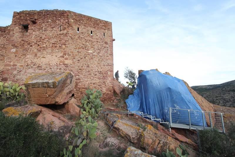 Millores en l'Abric del Castell de Vilafamés