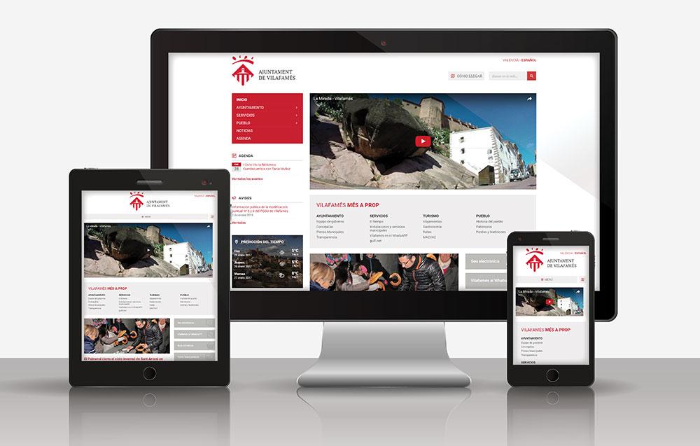 Nova web vilafames.es